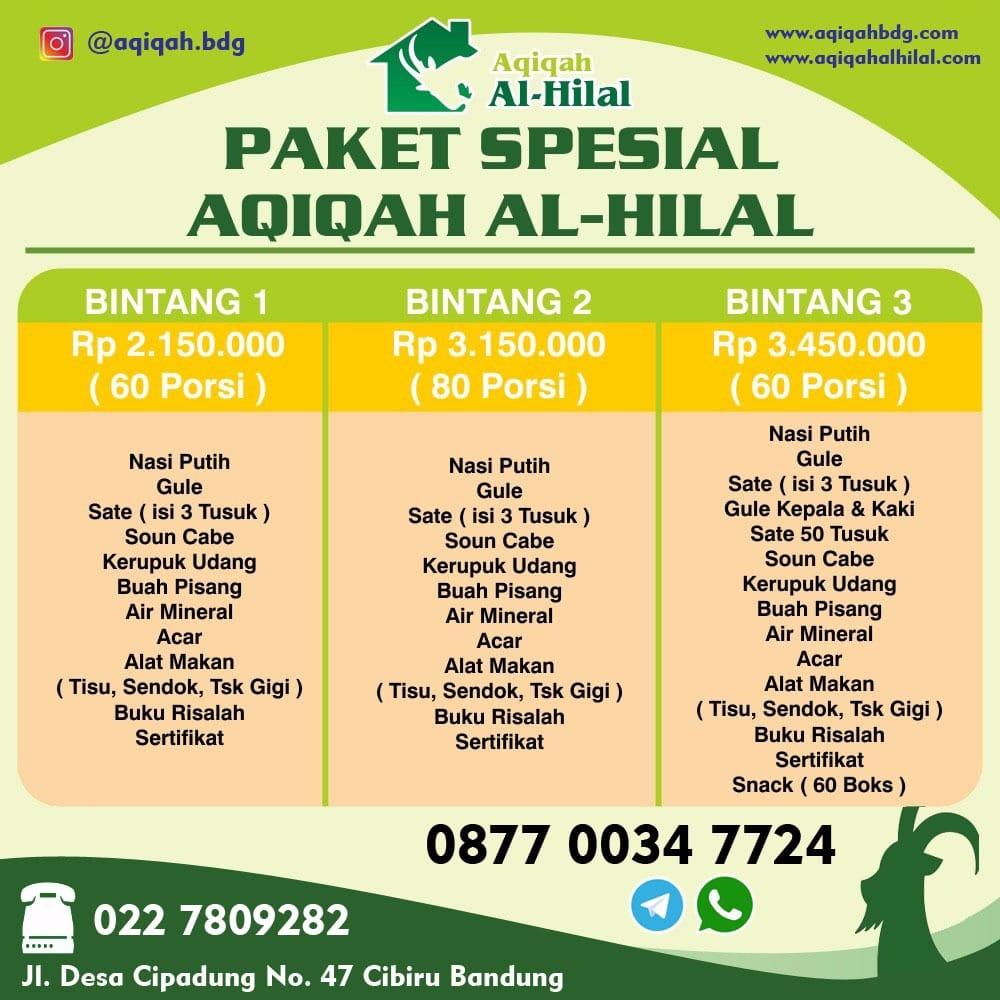 Paket Nasi Kotak Aqiqah Murah Bandung
