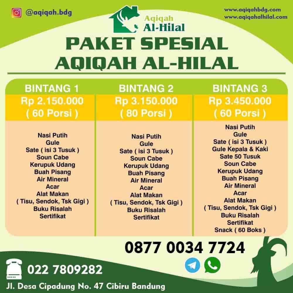Paket Biaya Aqiqah Bandung, Jasa Biaya Aqiqah Bandung, Layanan Biaya Aqiqah Bandung, Biaya Aqiqah Bandung