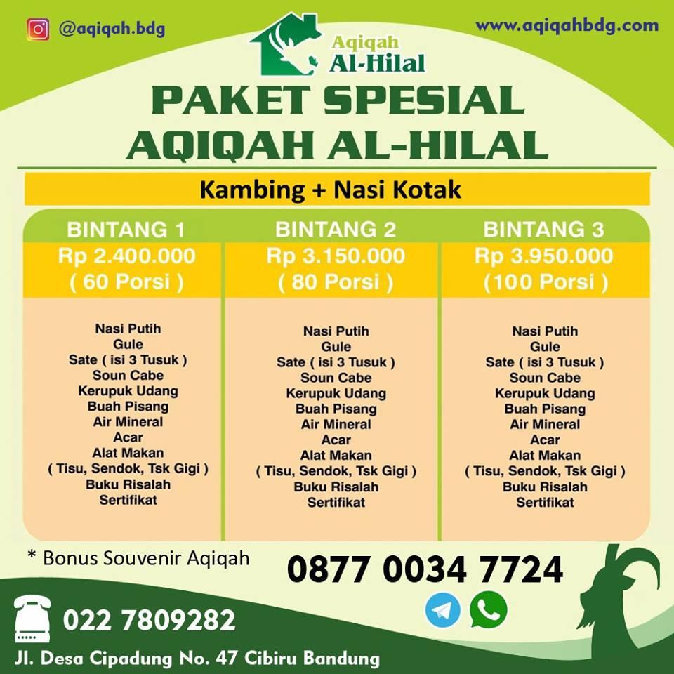 Paket Aqiqah Bandung 2019, Jasa Aqiqah Bandung 2019, Layanan Aqiqah Bandung 2019, Aqiqah Bandung 2019