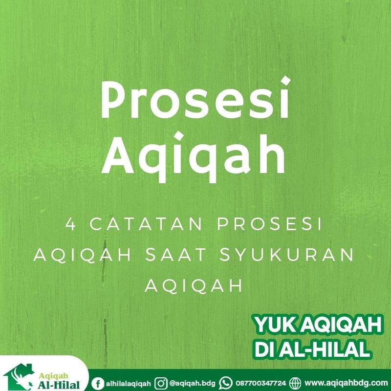prosesi aqiqah