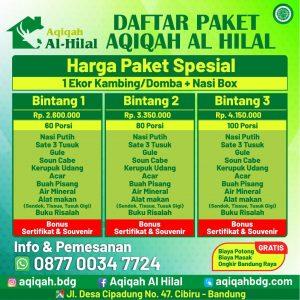 Jasa Katering Aqiqah Bandung | Gratis Ongkir Kota Bandung